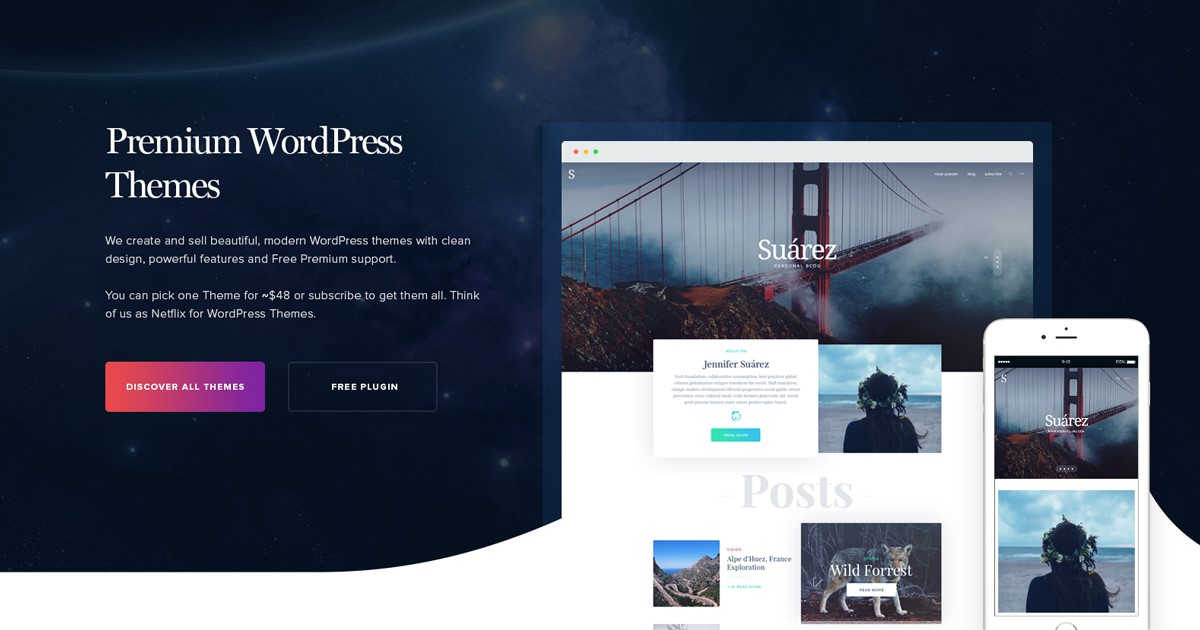 Start a website with WordPress