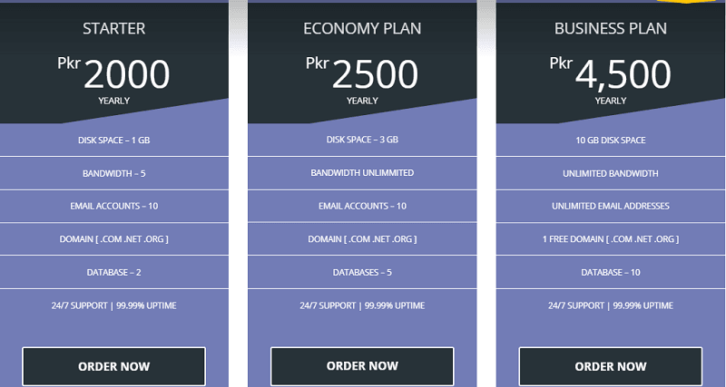 cheap hosting providers in pakistan