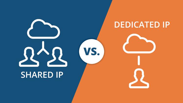 Shared vs Dedicated IP Address