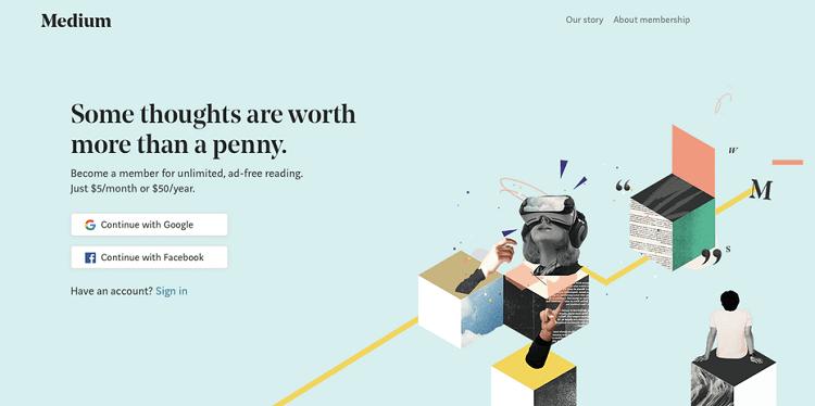 Serifs on Screen - website trends