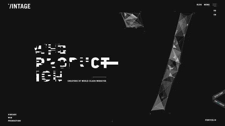 Glitch Art for website design
