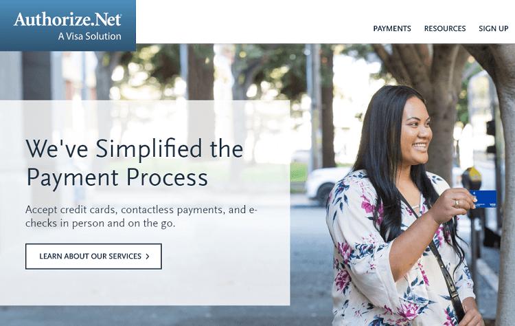 Authorize.net Payment for e-commerce website