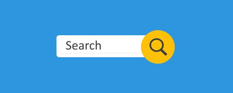 Add search bar - Tips for a Mobile-friendly Website