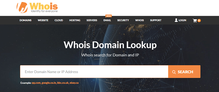 WHOIS Domain Lookup