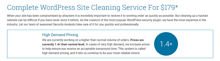 Wordfence Site Cleanup