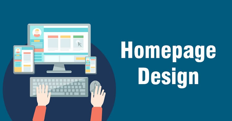 Well-designed Homepage